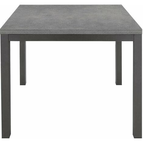 Tavolo Da Cucina Moderno.Tavolo Da Pranzo Moderno Di Design Apribile A Libro Cm 90 X 90 180 Rovere Grigio Per Sala Da Pranzo Cucina Ristorante 76147170