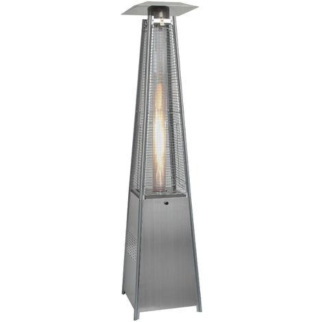 Quartz Glass Tube Real Flame 13KW Gas Garden Outdoor Patio Heater