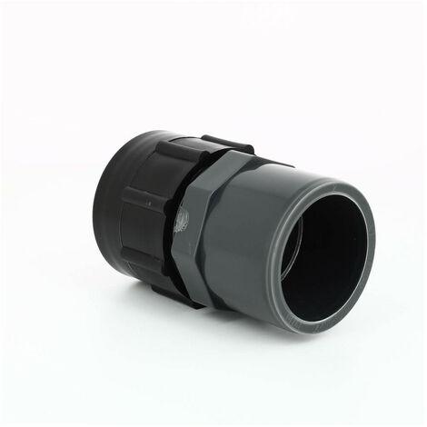 Raccord S60X6 cuve eau - Sortie PVC 50/63 mm