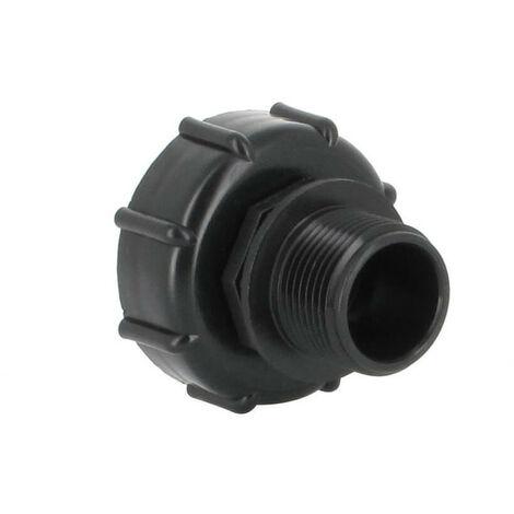 Raccord S60X6 - Fileté mâle 1'' Pas gaz (26-34 mm)