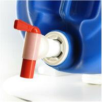 Raccord cuve eau 2'' filet large (S56X4) - Robinet 3/4'' avec prise d'air