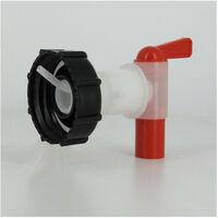Raccord cuve eau S60X6 - Robinet 3/4'' avec prise d'air