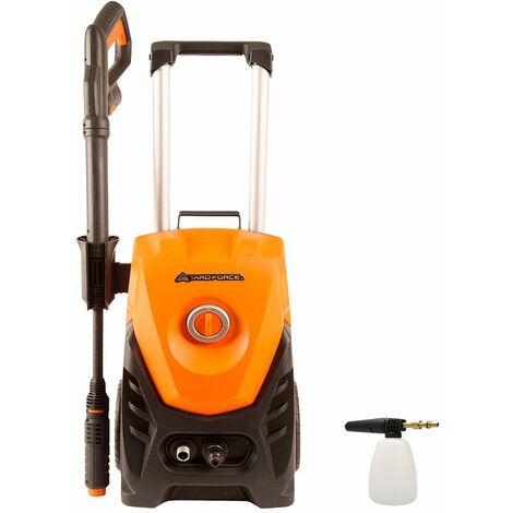 Yard Force 130 Bar 1800W High-Pressure Washer with Accessories 430l/h EW U13A