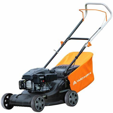 Yard Force 40cm Hand Push Petrol Lawnmower with 125cc Briggs and Stratton 300 Engine GMB40