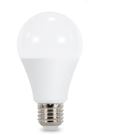 Bombilla LED A60 E27 8W con Sensor Crepuscular y Movimiento (PIR) Blanco Frío 6000K | IluminaShop