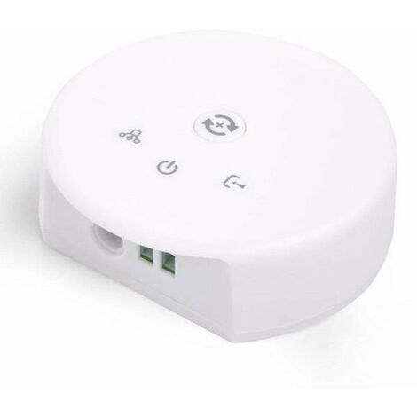 Controlador WIFI para Tiras LED 12/24V LED RGB / 3000K / 6000K con Indicadores LED + APP Blanco | IluminaShop