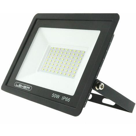 Foco Proyector LED SMD Lexsir 50W Regulable IP66 Blanco Frío 6000K   IluminaShop