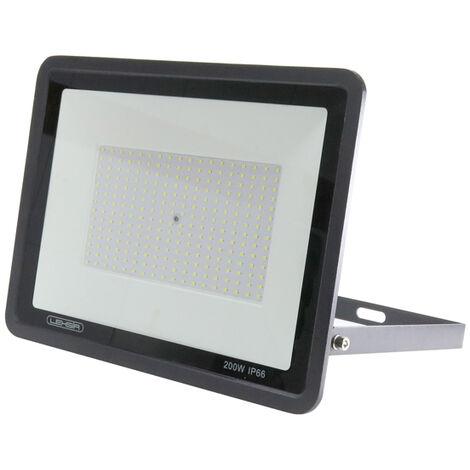 Foco Proyector LED SMD Lexsir 200W Regulable IP66 Blanco Frío 6000K | IluminaShop