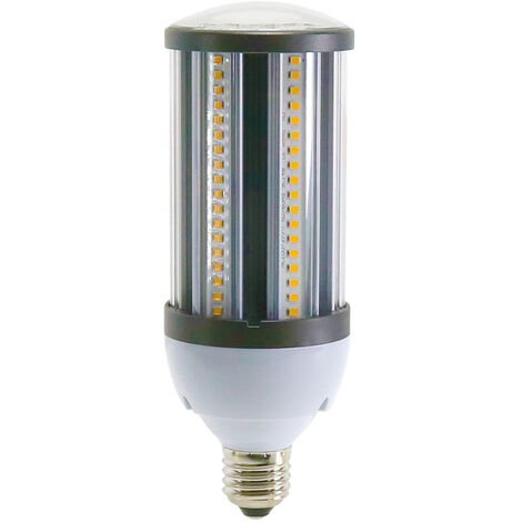 Bombilla LED E27 25W Mazorca Alumbrado Público IP64 2750LM Blanco Cálido 3000K | IluminaShop