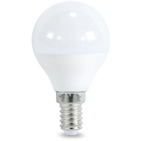 Bombilla LED E14 G45 7W Blanco Cálido 3000K | IluminaShop