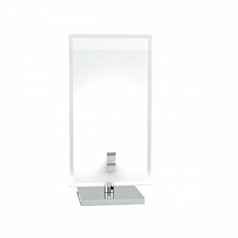 Abat Jour Tp Upgrade 1148 P G9 Led Vetro Bianco Lampada Tavolo Comodino Artigianale Moderna Interno