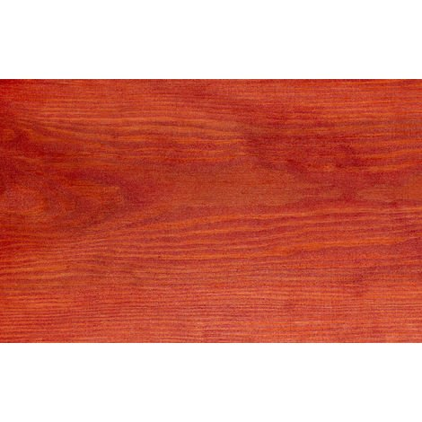 Luminos LUM1119 - SunSet - Lasur al Agua Protector Madera para Exterior. Color Rojo Pusta de Sol. 1L