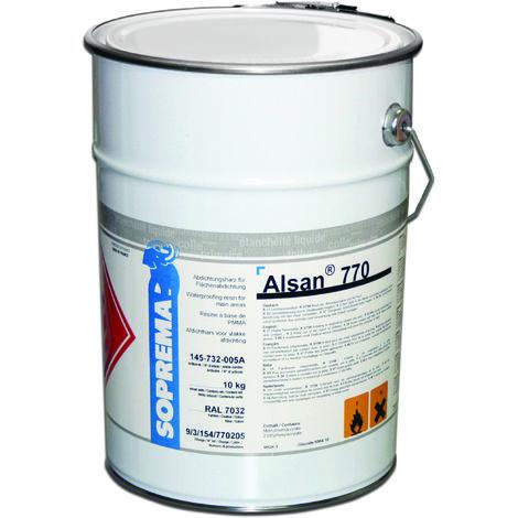 ALSAN 770 RAL 7032 en 10 kg (résine d'étanch. pr la réalisation de surface)