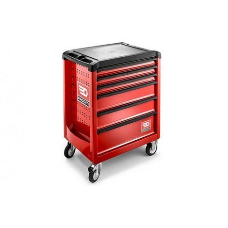 Servante d'atelier Facom ROLL rouge 6 tiroirs 6 tiroirs