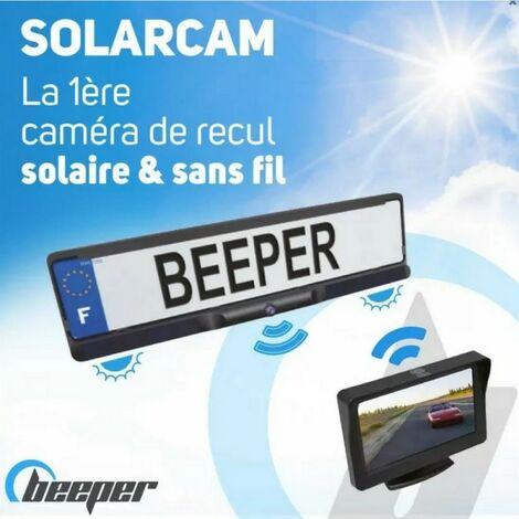 SOLARCAM - Caméra de recul solaire & sans fil avec écran 4,3'' 269.51