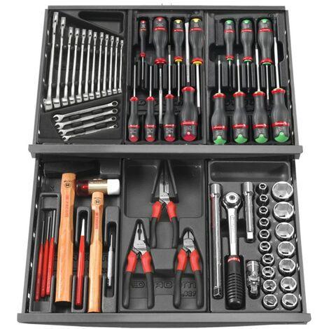 Composition 69 outils pour servante Facom 688.1