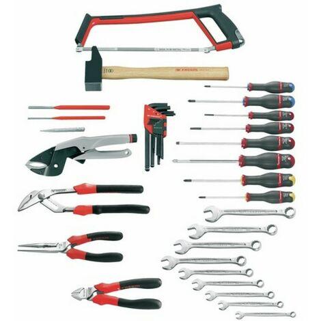 Composition 35 outils premier équipement Facom