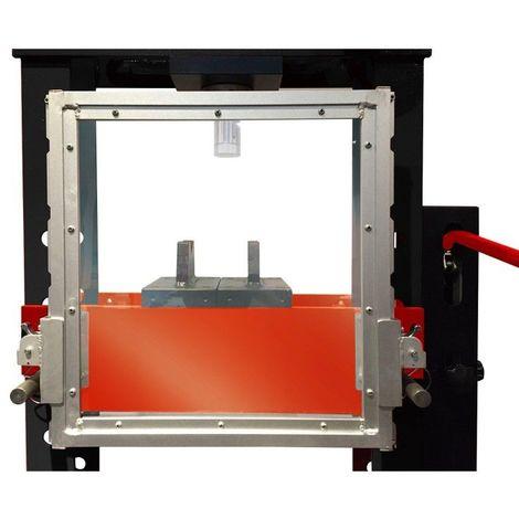 KS TOOLS 160.0138 Grille de protection pour presses hydrauliques 160.0115-160.0116 en plexiglas