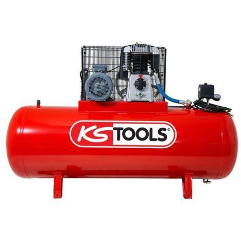 KS TOOLS 165.0708 Compresseur sur cuve 500L 6456.06