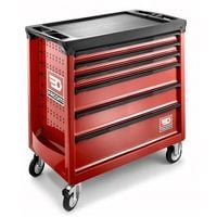 Servante d'atelier Facom ROLL rouge Extra-Large 6 tiroirs 4 modules par tiroir 6 tiroirs