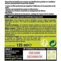 Lubrifiant chaîne DRY conditions sèches 125 mL GS27