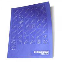 Planche de pictogrammes