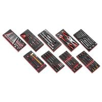 Composition 9 modules 3 tiroir d'outils mécanicien servante FACOM