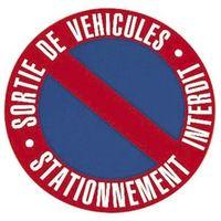Disque de stationnement interdit