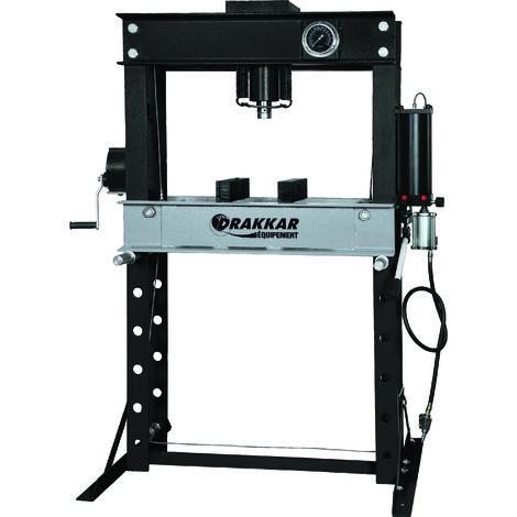 Presse d'atelier manuelle et pneumatique