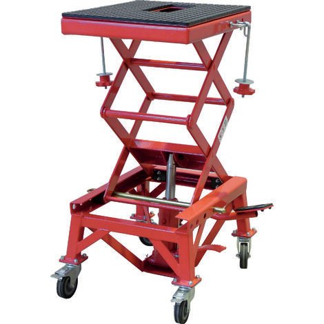 Table élevatrice hydraulique Drakkar Equipement pour moto 135 kg Origine