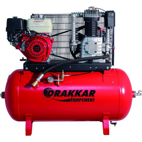 Compresseur thermique 9cv 230l moteur honda - air