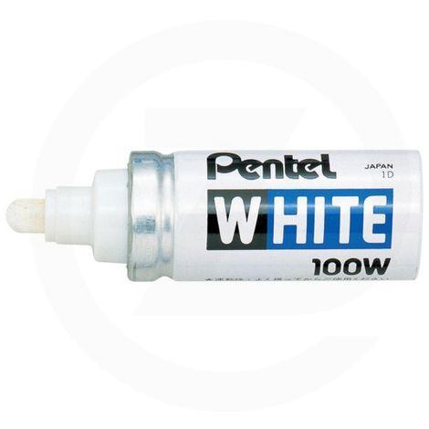 Marqueur X100W blanc Pentel