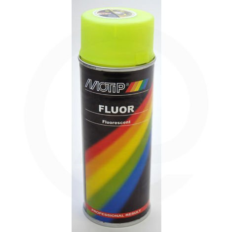 Peinture fluorescente jaune 400 ml