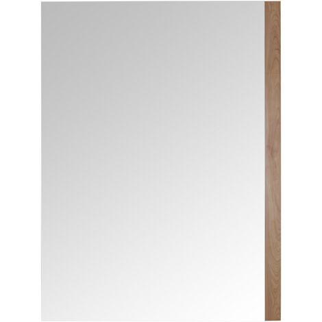Milano Oxley Modern 1000mm X 750mm, Oak Framed Bathroom Mirrors