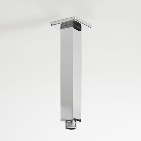 Milano Arvo - Ceiling Mounted Square Arm for Shower Head - Chrome
