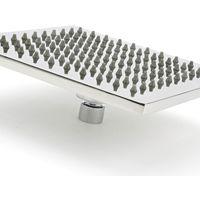 Milano Arvo - Modern 400mm Square Rainfall Shower Head - Chrome