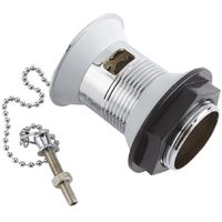Milano Select - Traditional Basin Waste with Plug and Ball Chain - Chrome