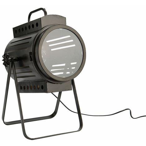 Lampe à poser spot industriel - Amadeus - Gris