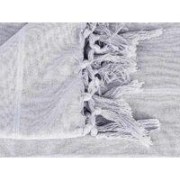 Couvre lit 160 x 220 cm Charme - gris clair - Atmosphera - Gris clair