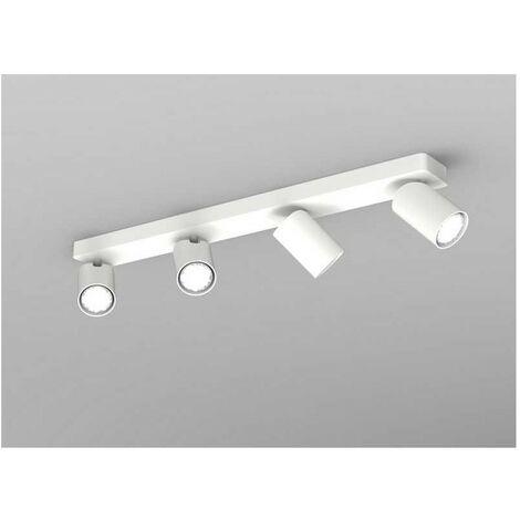 Lineal de 4 focos para techo modelo SAL de Mantra