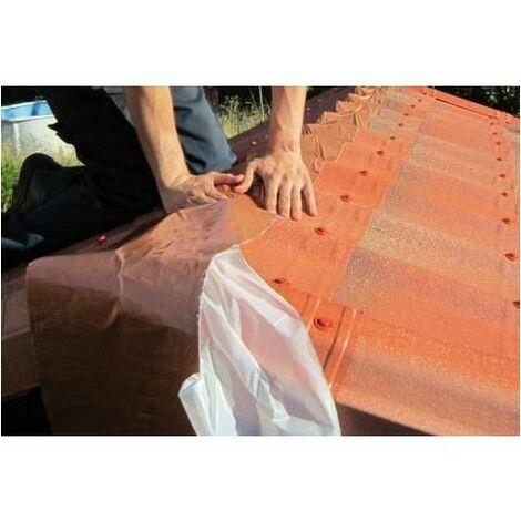 Instalación de un impermeabilizante de cubiertas