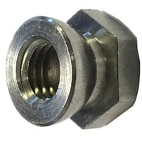 M6 Shear Nut A2 stainless steel (Permacone - snapoff - Security - Tamper Proof)
