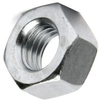 M6 Hex Nut - Bright Zinc Plated (BZP)DIN934