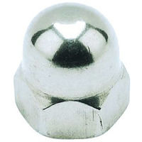M4 Hexagon Dome Nut - A4 Stainless Steel DIN1587