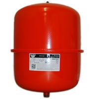 Zilmet - 25 Litre Red Heating Expansion Vessel & Sealed System Kit 13000024