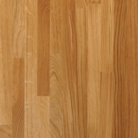 Solid Oak Wood Worktop Plinth 3M X 150 X 20mm