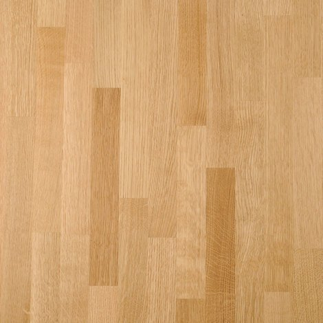 Solid Prime Oak Wood Worktop Upstand 3M X 80 X 18mm