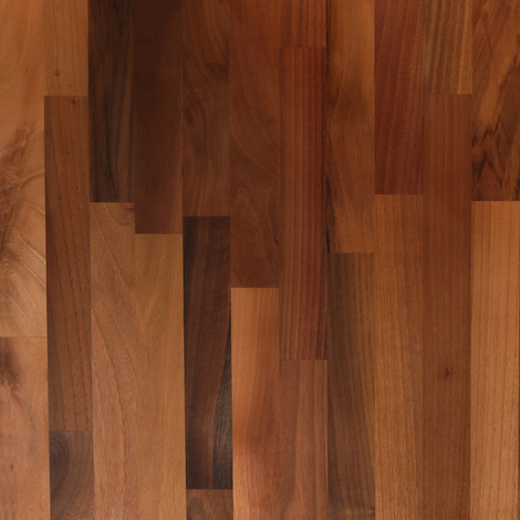 Solid Walnut Wood Worktop Sample