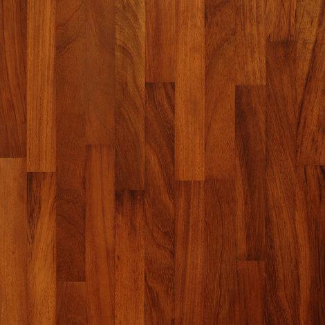 Solid Iroko Wood Worktop Sample