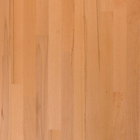 Solid Beech Wood Worktop Sample